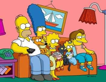 Les Simpson L'amoureuse de Grand-mère