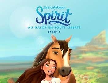 Spirit : Au galop en toute liberté Lucky et l'Appaloosa en détresse