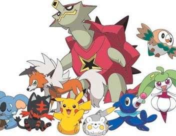 Pokémon : Soleil et Lune - Ultra-Aventures Cache-cache Pokémon