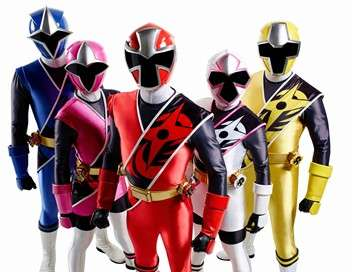 Power Rangers : Super Ninja Steel En mauvaise voix