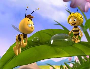 Maya l'abeille 3D Pollen arc-en-ciel