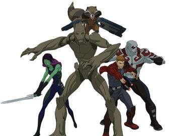 Les gardiens de la galaxie La guerre contre Asgard : le sauvetage