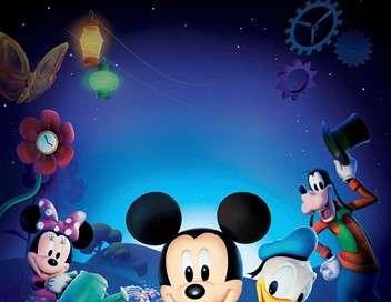 La maison de Mickey Mickey et Minnie font un safari