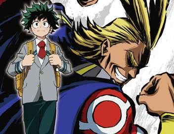 My Hero Academia Katsuki sur la ligne de départ