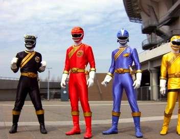 Power Rangers : Super Megaforce Le lion rouge