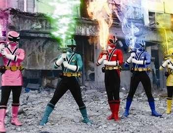 Power Rangers : super samurai Le cauchemar d'halloween