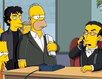 Les Simpson Le coup du bouquin