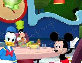 La maison de Mickey Le petit train de Mickey