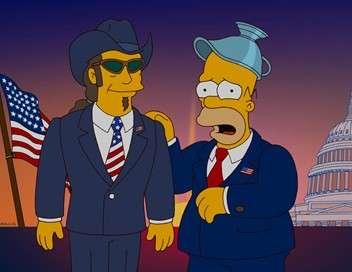 Les Simpson Politiquement inepte