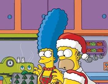 Les Simpson Noël blanc