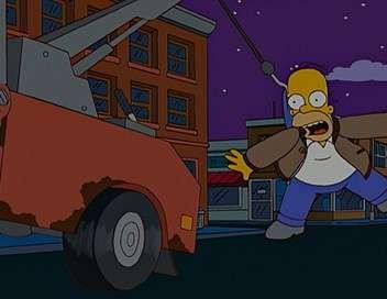 Les Simpson Le cowboy des rues
