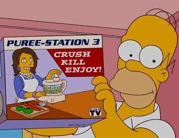 Les Simpson Bart pose un lapin