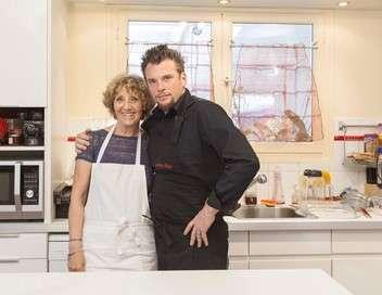 Norbert commis d'office Mathieu et ses pâtes carbonara à la mayonnaise/Brigitte et son sauté de porc coco-banane