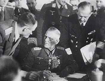 8 mai 1945, la capitulation