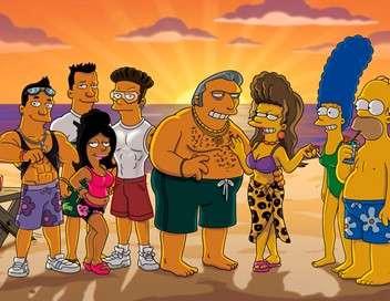 Les Simpson La vraie femme de Gros Tony
