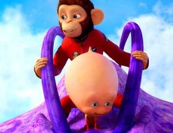 Les chimpanzés de l'espace 2 3D
