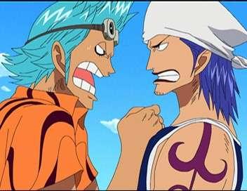 One Piece Le duo de choc ! Les frères siamois contre Zoro
