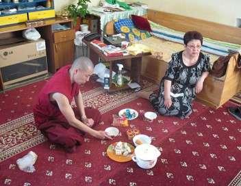 Les moines bouddhistes de Kalmoukie