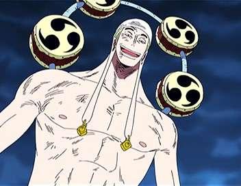 One Piece Un affrontement violent ! La grande bataille contre l'équipage du chat noir