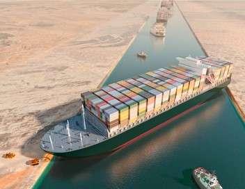 Ever Given : course contre la montre dans le canal de Suez