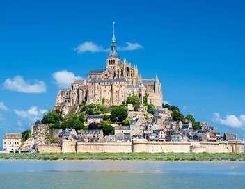 Monumental tour, Mont-Saint-Michel