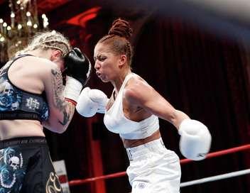 Toulouse Boxing Show Estelle Yoka Mossely/Olena Medvedenko