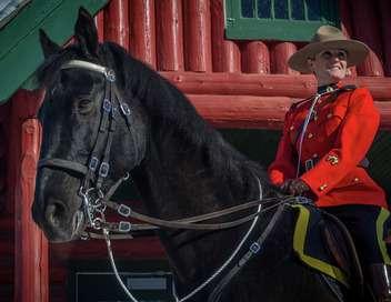 Une femme à la Gendarmerie royale du Canada