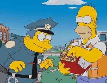Les Simpson Chef de coeur