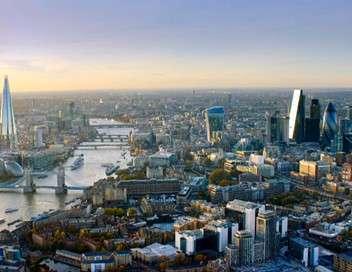 Sur les toits de Londres