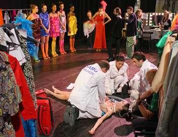 Équipe médicale d'urgence Backstage