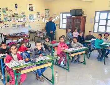 Maroc, une école pour les enfants du désert