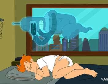 Futurama Bender est amoureux