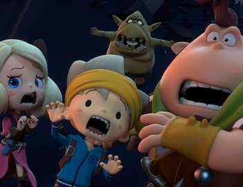 Snack World, on va croquer du méchant Une belle brochette de dragons