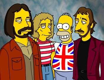 Les Simpson Adieu cow-boy