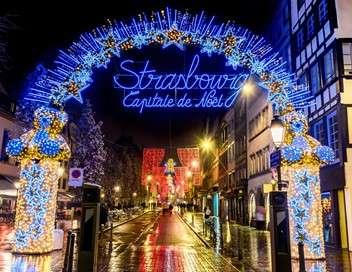 Le Noël extraordinaire des Français Marché mythique, sapin XXL et concours d'illuminations : Strasbourg, capitale de Noël !
