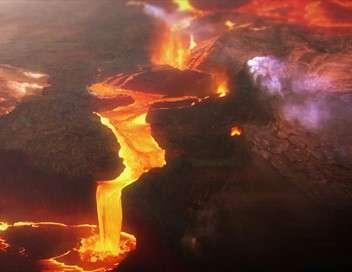 Les volcans de l'espace