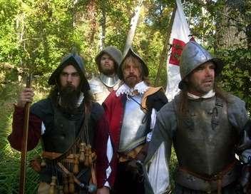 La conquête de l'Amérique John Smith et Pocahontas
