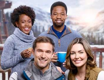 Des fiançailles sous la neige