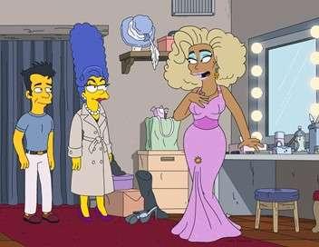 Les Simpson Maman travaille