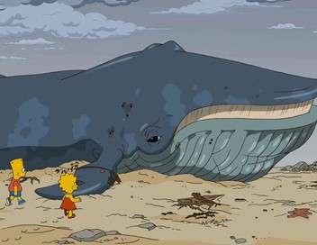 Les Simpson Eolienne et cétacé