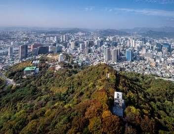 La Corée vue d'en haut