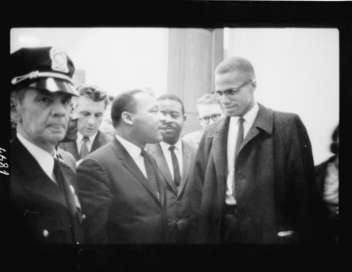 Martin Luther King/Malcolm X : deux rêves noirs