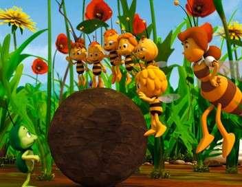 Maya l'abeille 3D Au travail Willy !