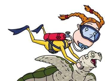 La famille Delajungle Le dragon et la grosse tête