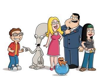 American Dad ! Roger, simple flic