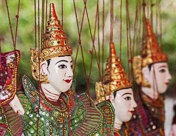 Courant d'art Marionnettes laotiennes