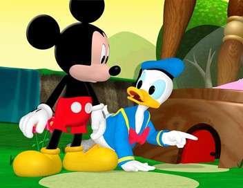 La maison de Mickey Donald le génie