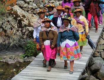 Pérou, l'agriculture en terrasses