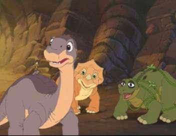 Le petit dinosaure : la pierre de feu