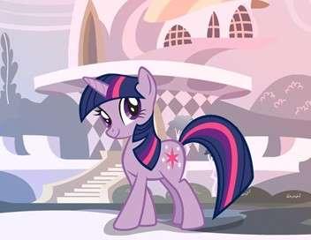 My Little Pony : les amies c'est magique La meilleure tatie du monde